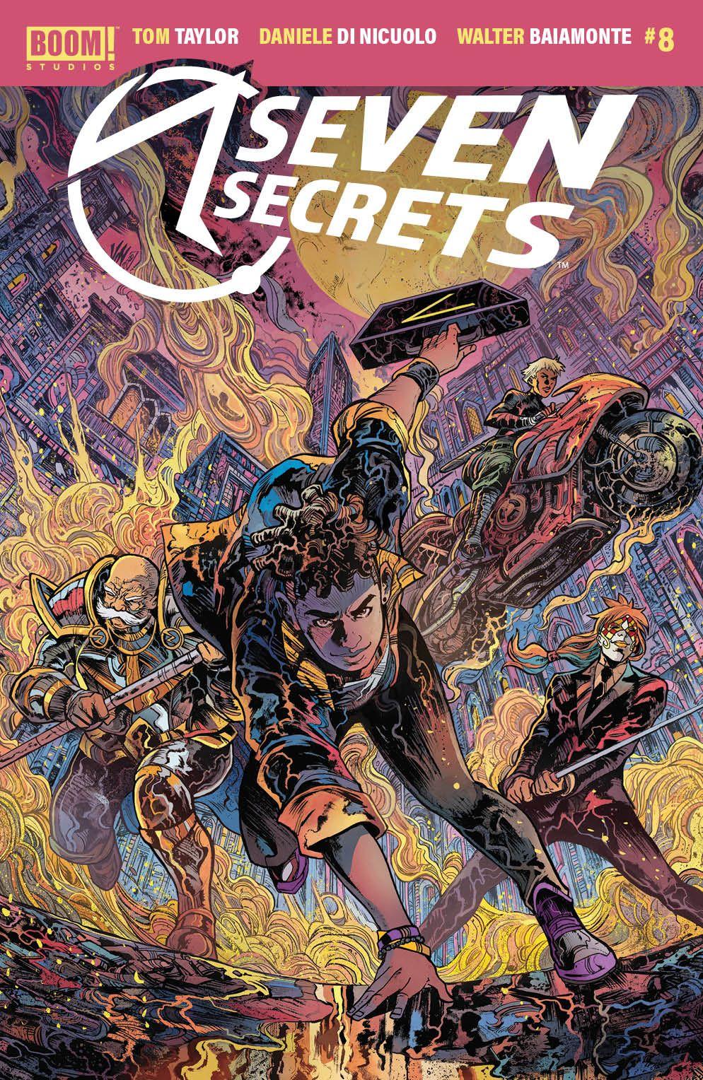 SevenSecrets_008_Cover_B_Variant ComicList Previews: SEVEN SECRETS #8