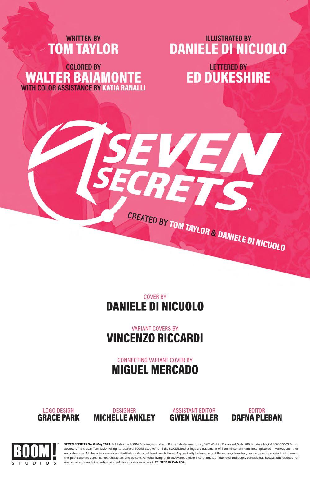 SevenSecrets_008_PRESS_2 ComicList Previews: SEVEN SECRETS #8