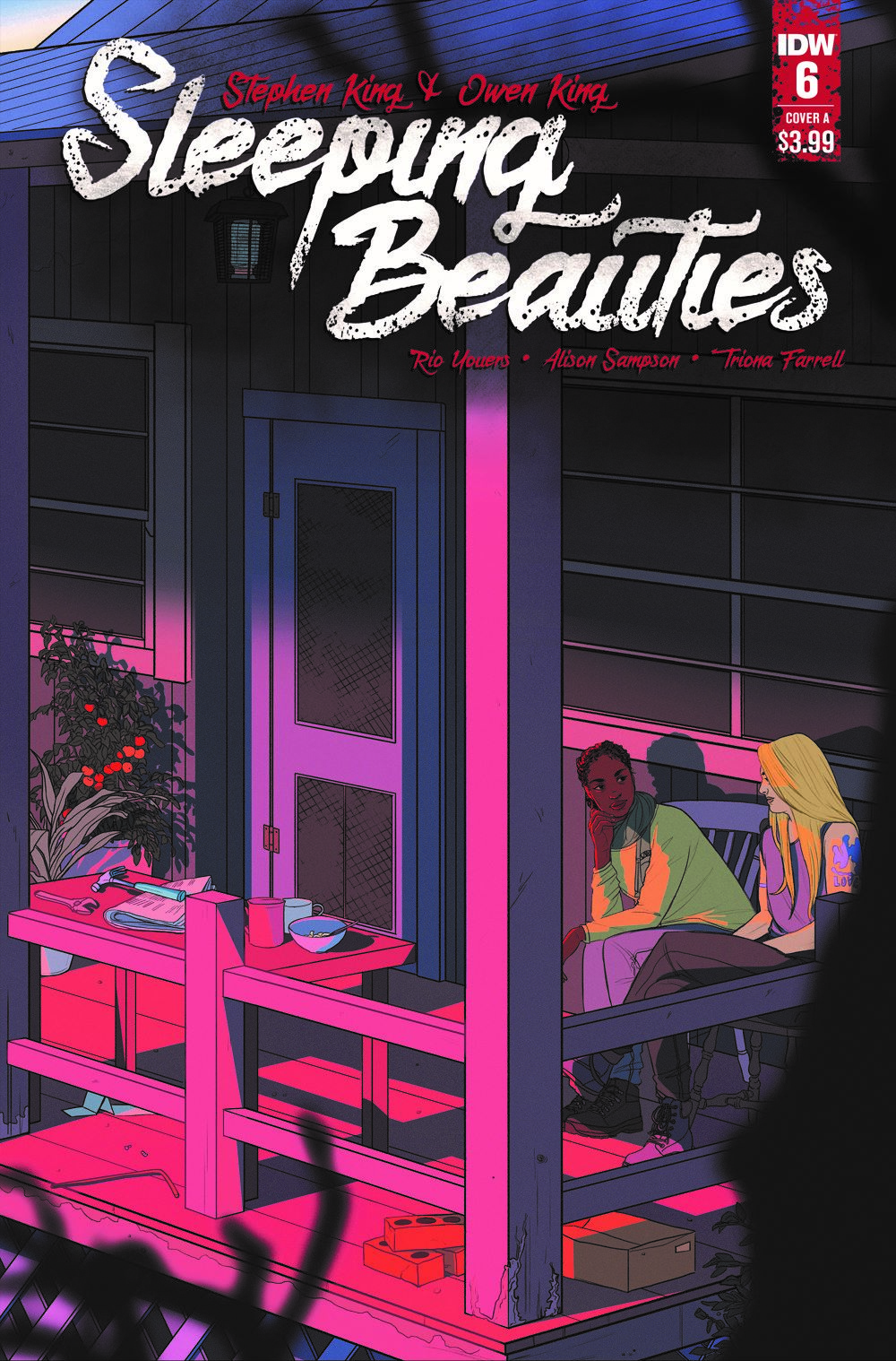 SleepingBeauties_06_CVR_A-2 ComicList: IDW Publishing New Releases for 05/19/2021