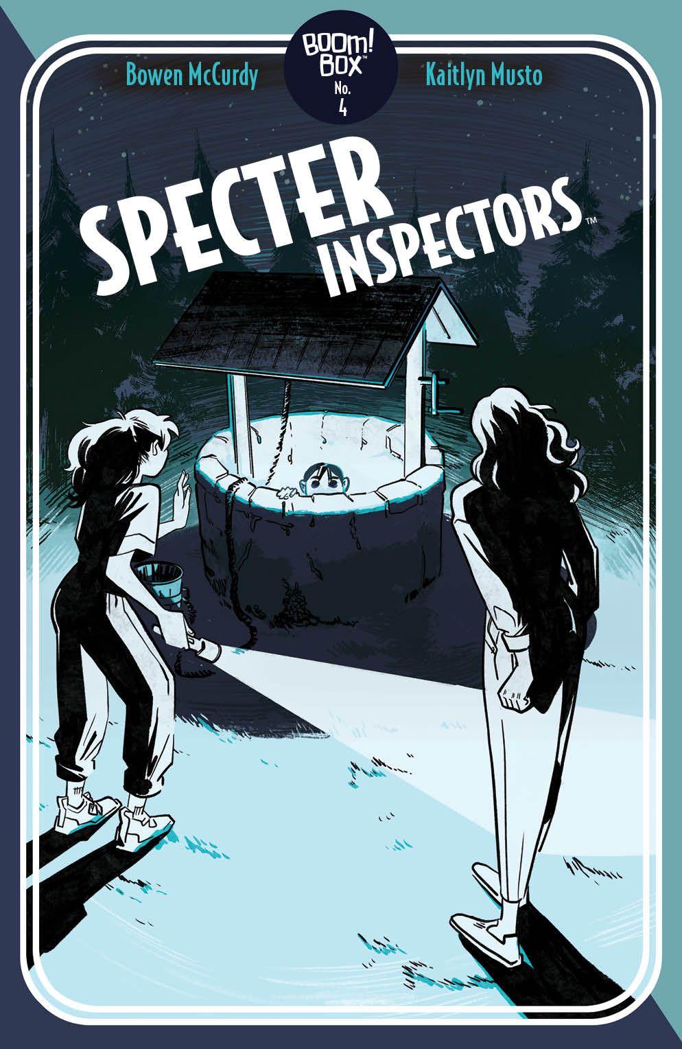 SpecterInspectors_004_Cover_B_Pocketbook ComicList Previews: SPECTER INSPECTORS #4 (OF 5)
