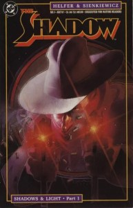 Speculating-on-The-Shadow-1-1987-by-Helfer-and-Sienkiewicz-193x300 Speculating on The Shadow: Pulps to Comics
