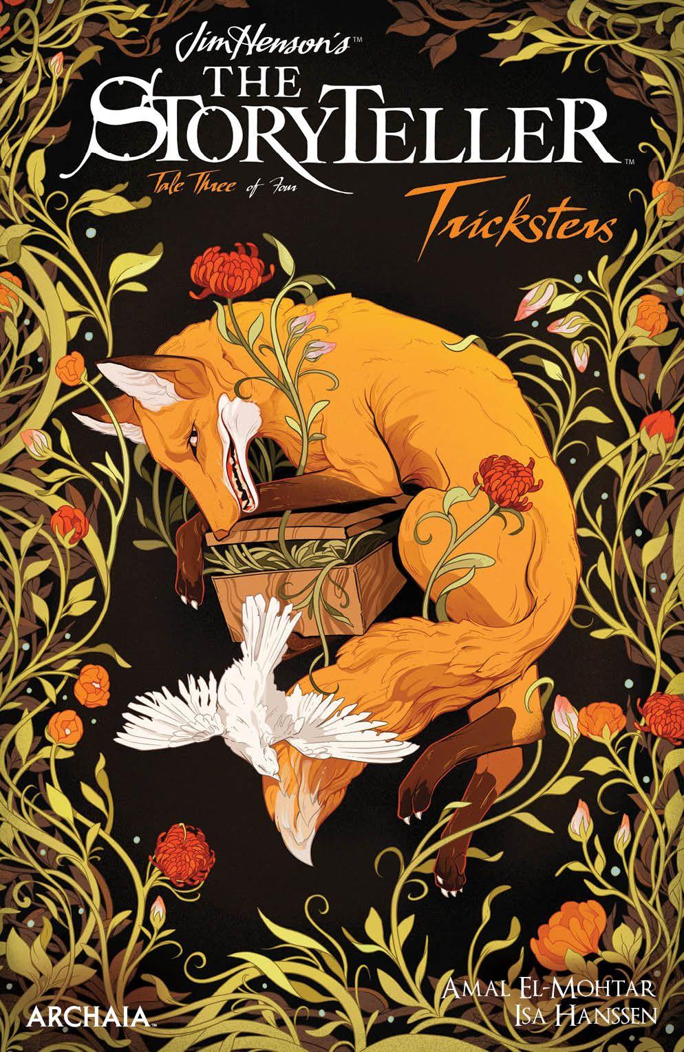 StorytellerTricksters_003_Cover_B_Variant ComicList Previews: JIM HENSON'S THE STORYTELLER TRICKSTERS #3 (OF 4)
