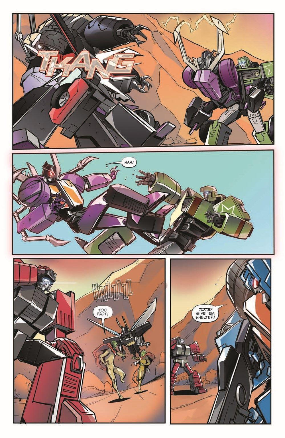TFEscape03-pr-4 ComicList Previews: TRANSFORMERS ESCAPE #3 (OF 5)