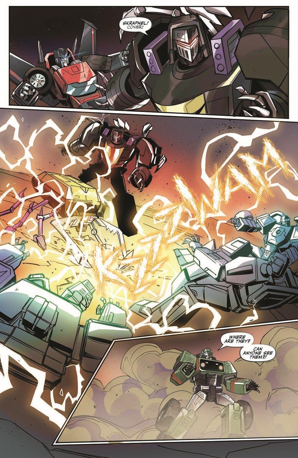 TFEscape03-pr-6 ComicList Previews: TRANSFORMERS ESCAPE #3 (OF 5)
