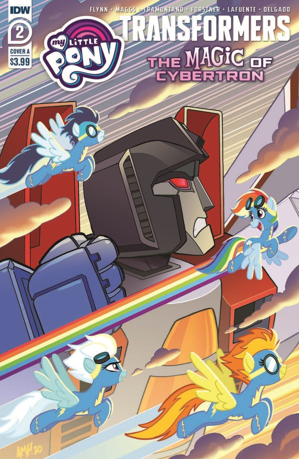 TFMLP2-02-pr-1 ComicList Previews: MY LITTLE PONY TRANSFORMERS II #2 (OF 4)