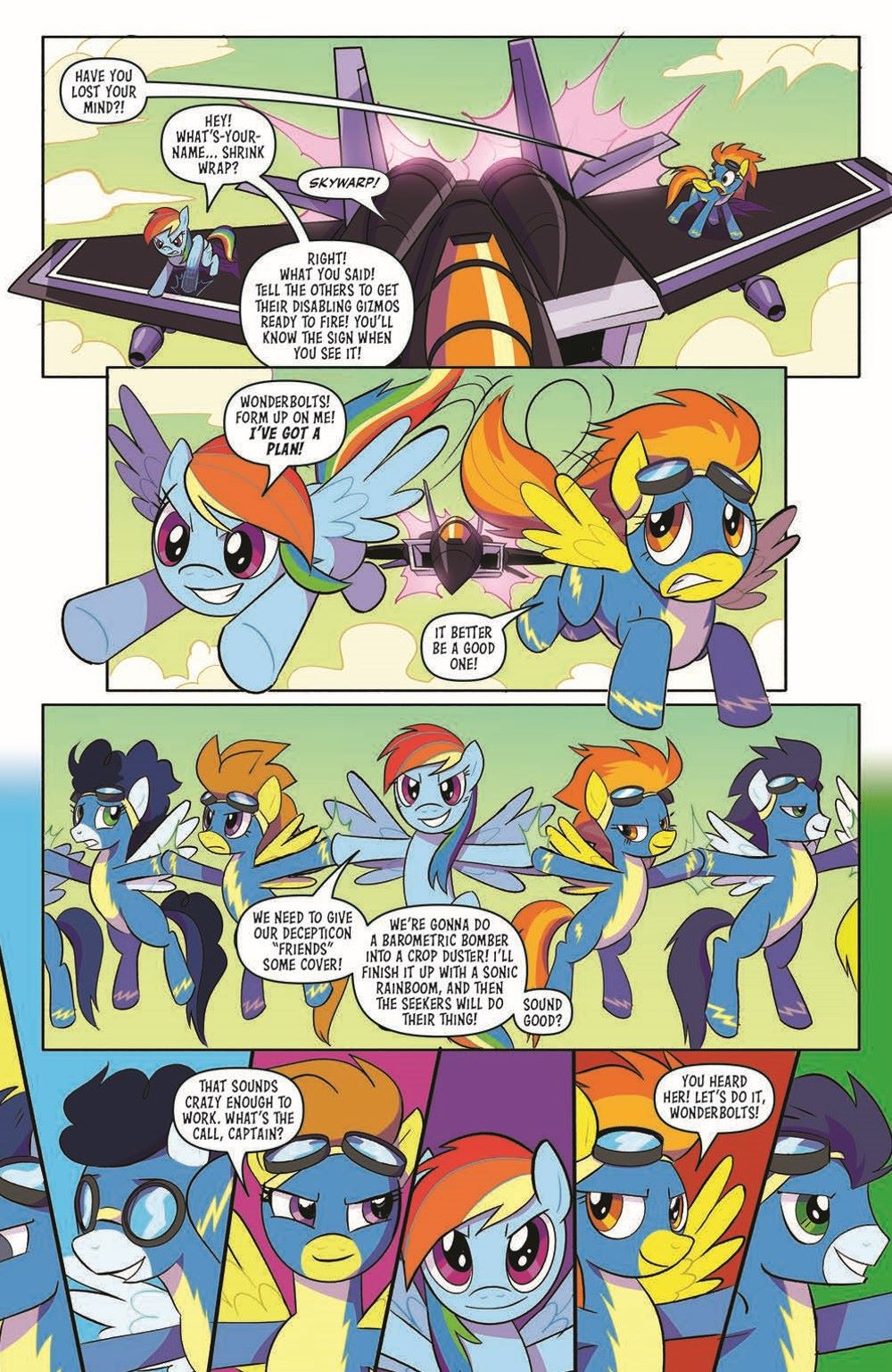 TFMLP2-02-pr-7 ComicList Previews: MY LITTLE PONY TRANSFORMERS II #2 (OF 4)