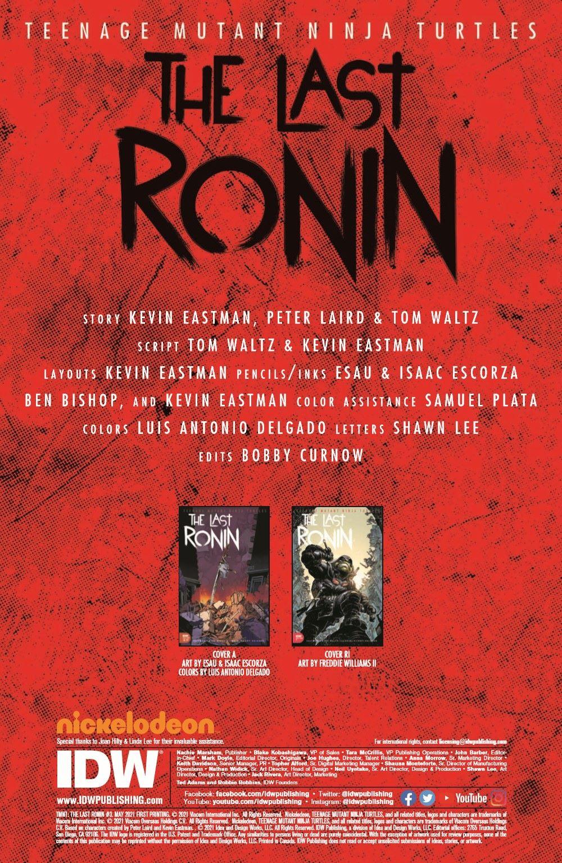 TMNT-LastRonin03_pr-2 ComicList Previews: TEENAGE MUTANT NINJA TURTLES THE LAST RONIN #3 (OF 5)
