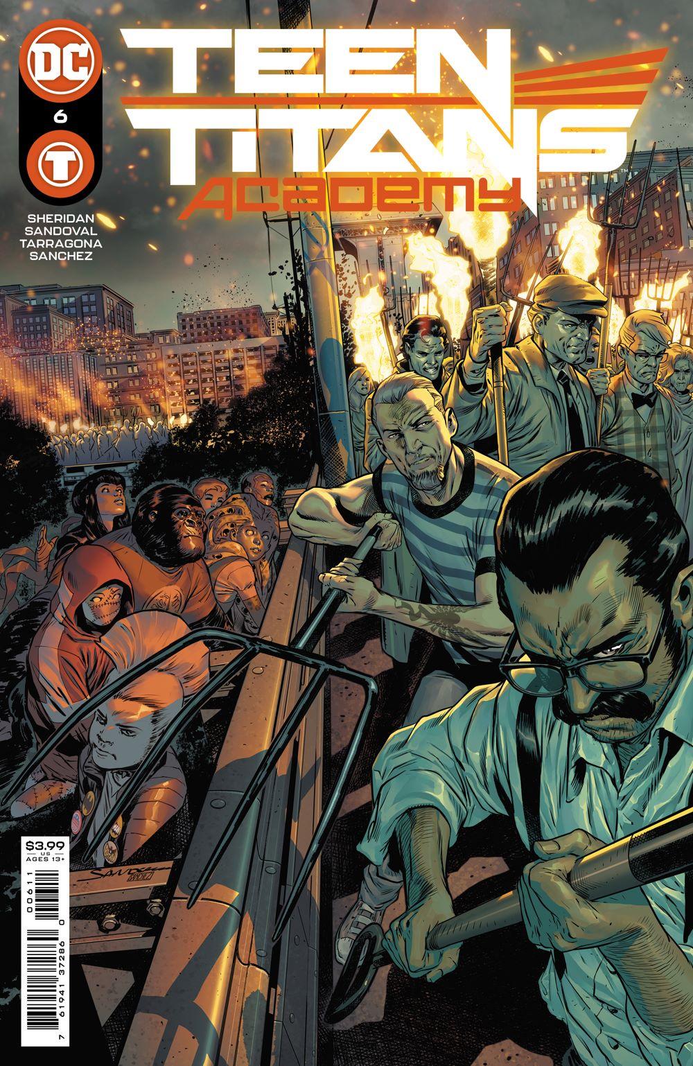 TT_ACADEMY_Cv6 DC Comics August 2021 Solicitations