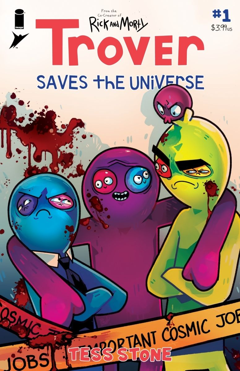 Trover01A_Cover_c6815a0147f8285e3b5042ebb3626151 TROVER SAVES THE UNIVERSE becomes a comic book miniseries