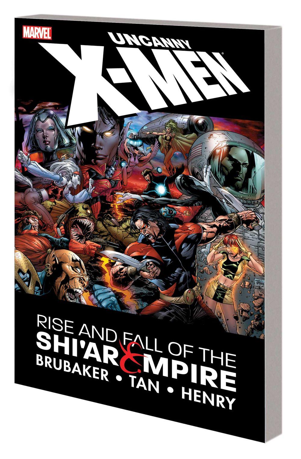 UNCXMEN_RISE_SHIAR_TPB Marvel Comics August 2021 Solicitations