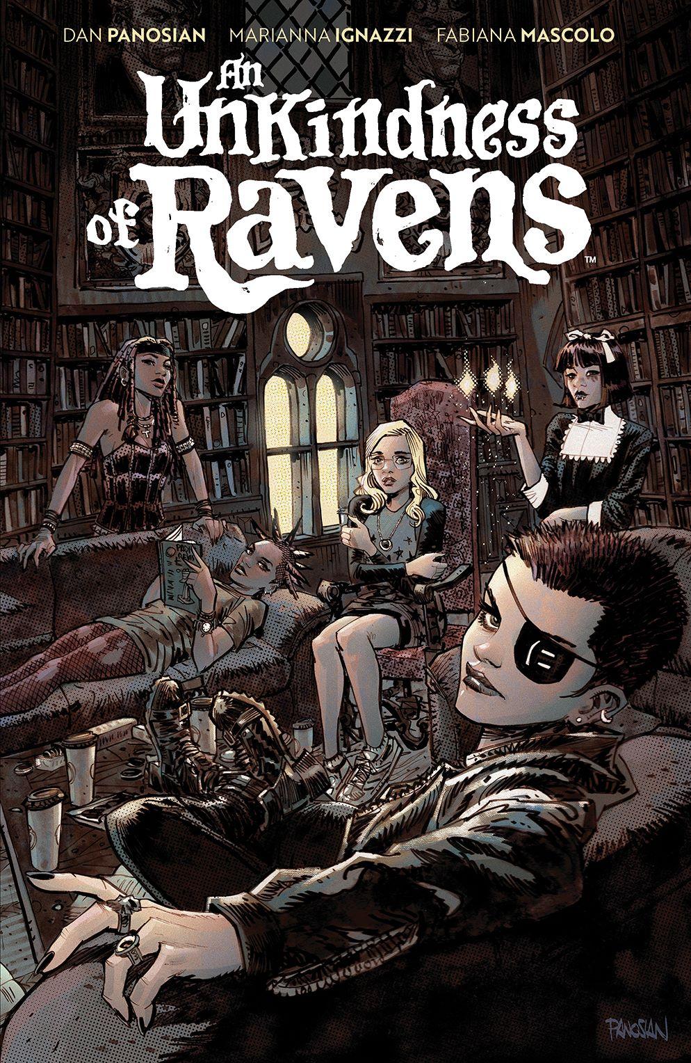UnkindnessRavens_SC_Cover ComicList: BOOM! Studios New Releases for 06/02/2021