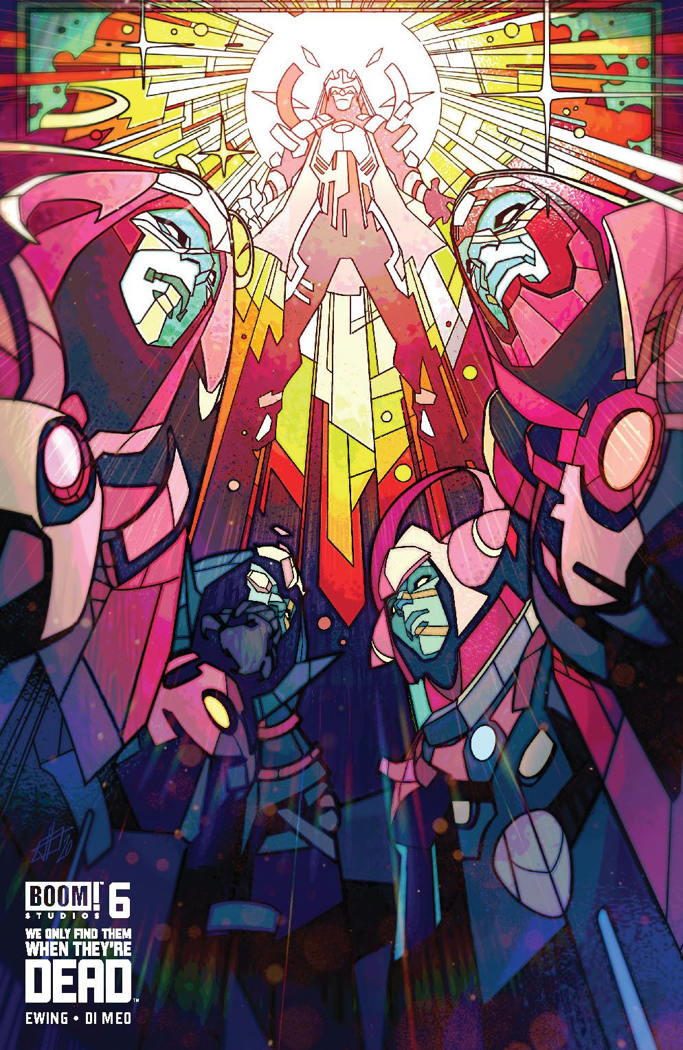 WeOnlyFindThem_006_Cover_B_DeadGod ComicList Previews: WE ONLY FIND THEM WHEN THEY'RE DEAD #6
