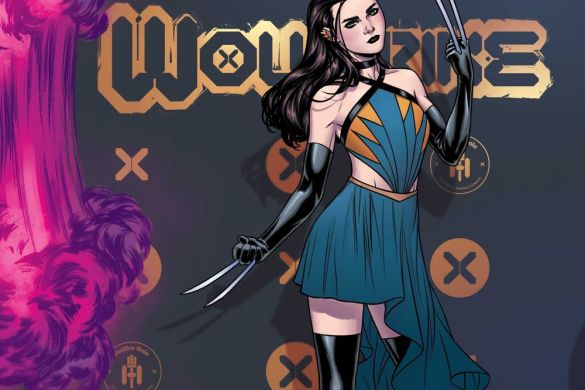 Wolverine Russell Dauterman connects the Hellfire Gala covers this June