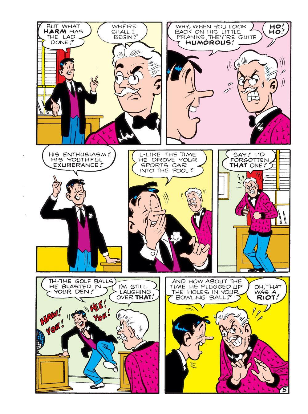 WorldOfArchieJumboComicsDigest_109-140 ComicList Previews: WORLD OF ARCHIE JUMBO COMICS DIGEST #109