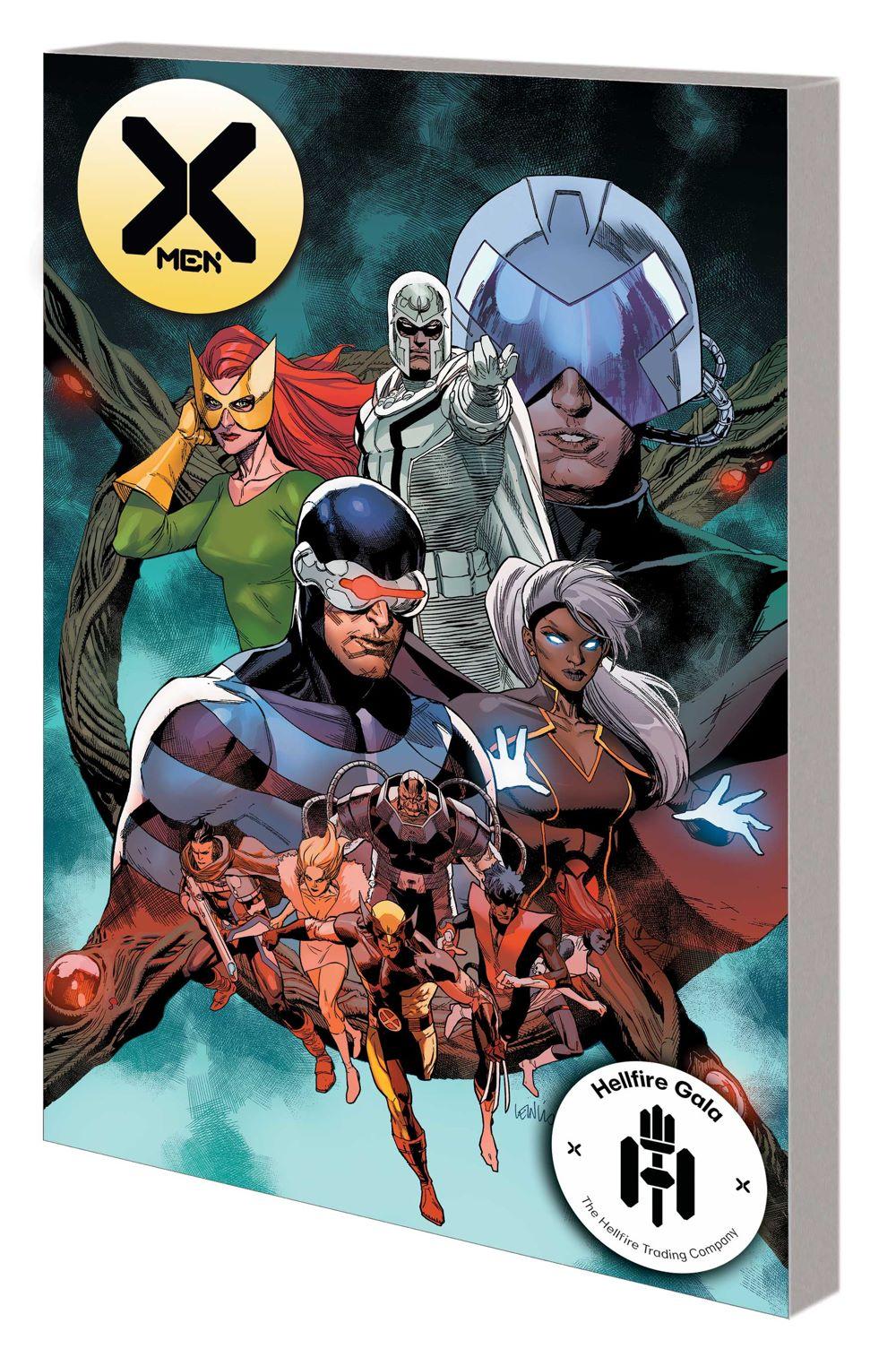 XMEN_HELLFIRE_TPB Marvel Comics August 2021 Solicitations