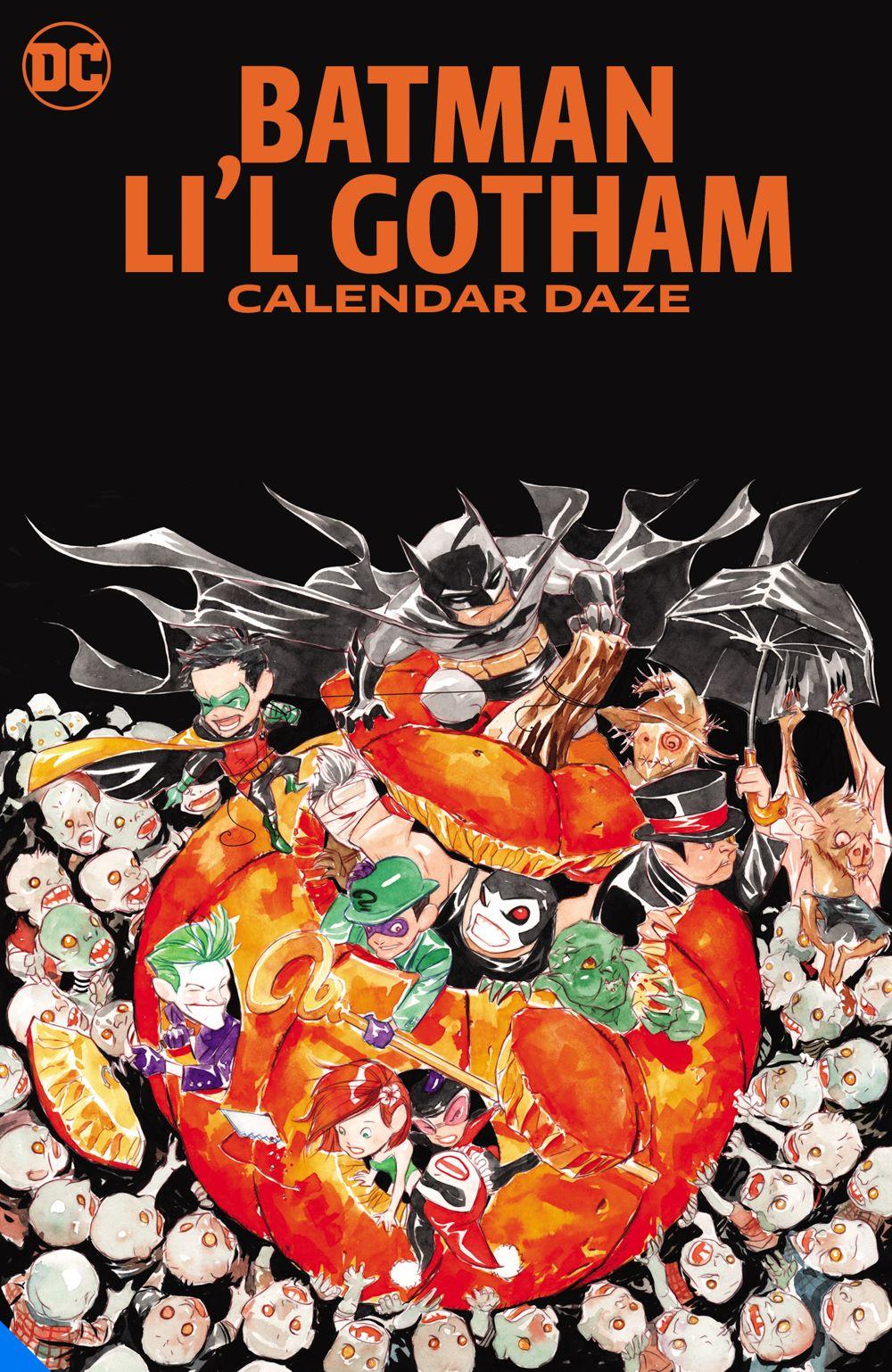 batmanlilgothamcalednardaze_adv DC Comics August 2021 Solicitations