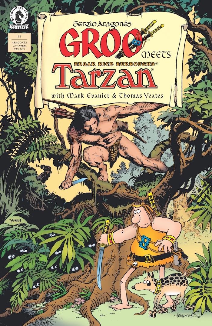 groocov GROO THE WANDERER meets Tarzan this July