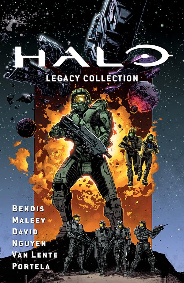 halolegacycov Dark Horse to collect three classic HALO stories