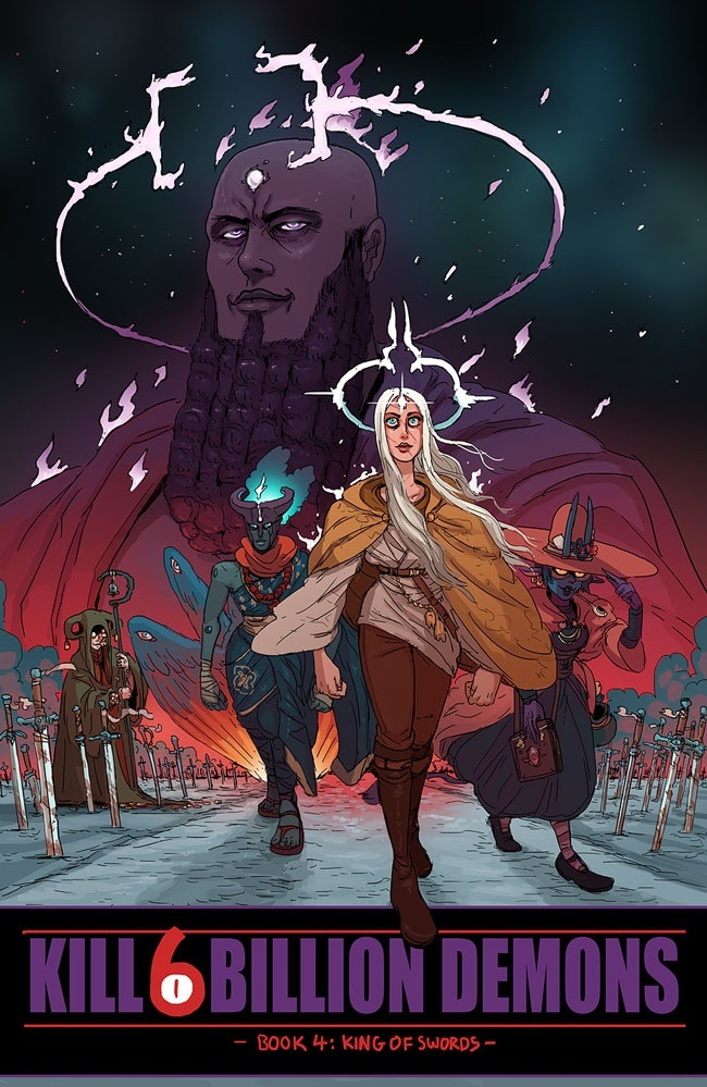 killsixbilliondemons_tp4 Image Comics August 2021 Solicitations