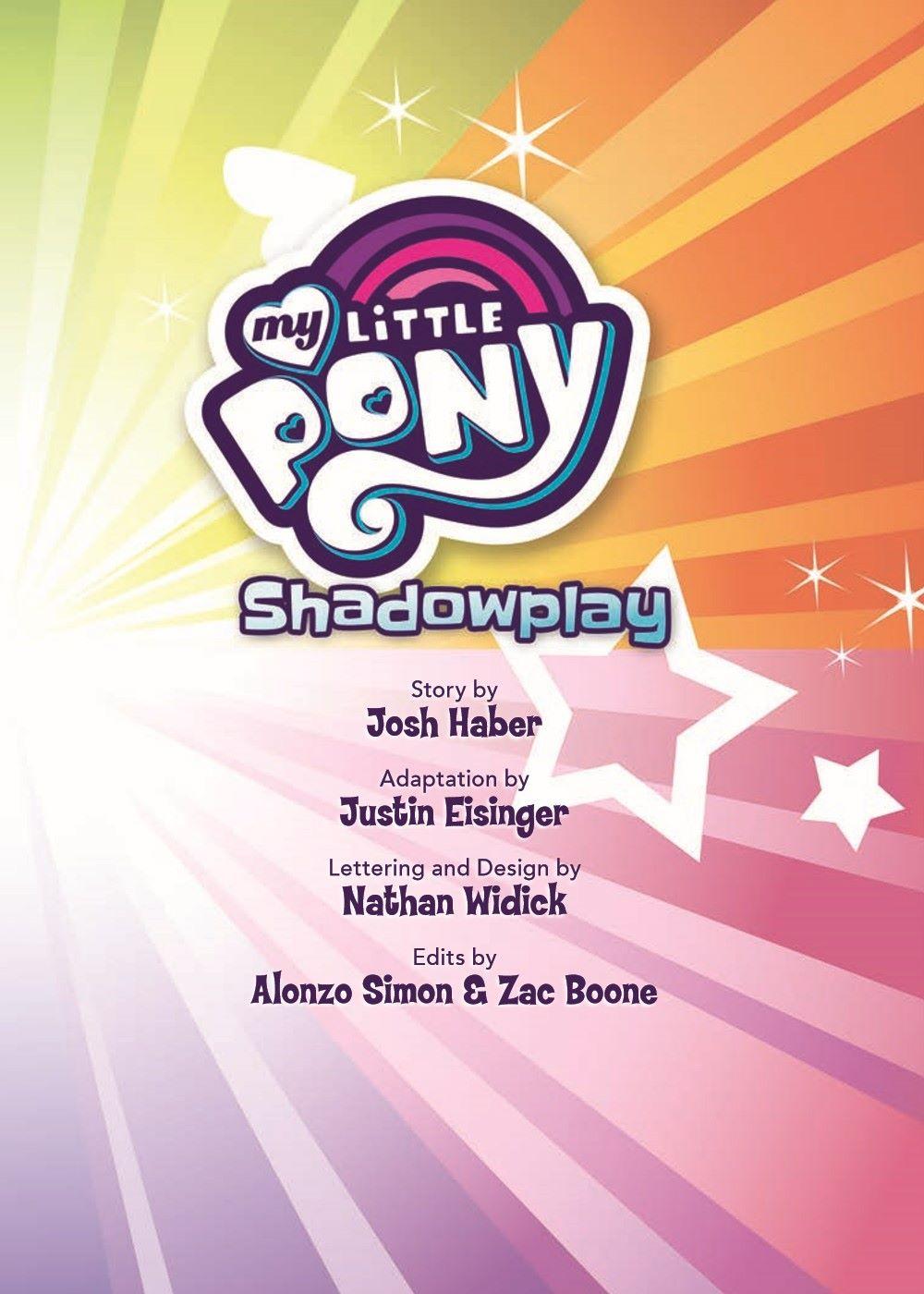 mlp-animatedV14-pr-3 ComicList Previews: MY LITTLE PONY VOLUME 14 SHADOWPLAY TP