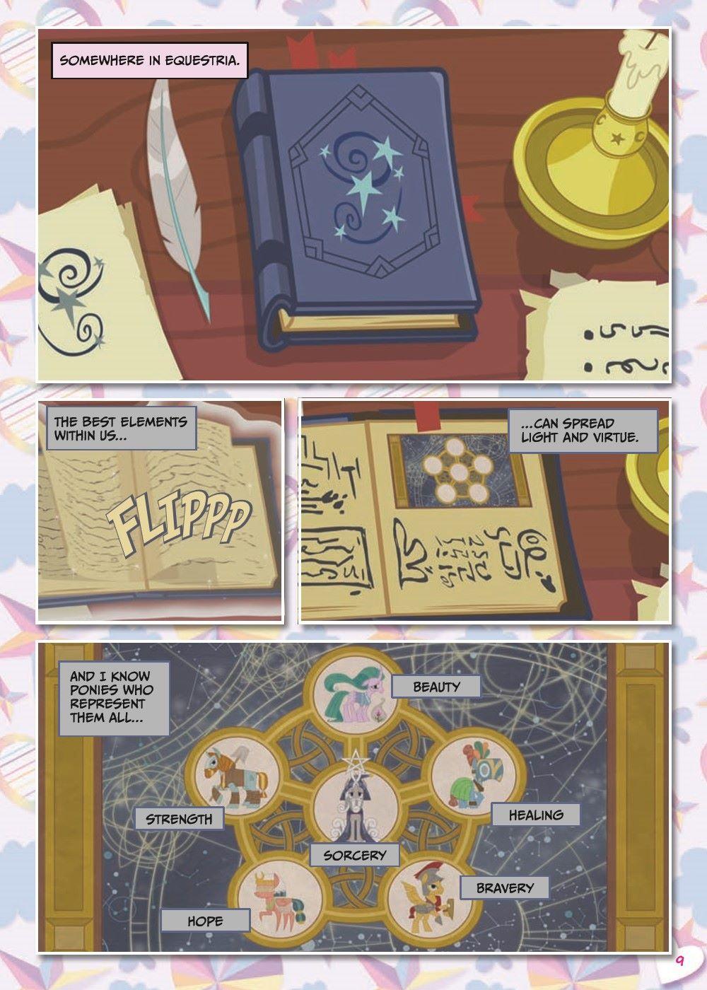 mlp-animatedV14-pr-4 ComicList Previews: MY LITTLE PONY VOLUME 14 SHADOWPLAY TP
