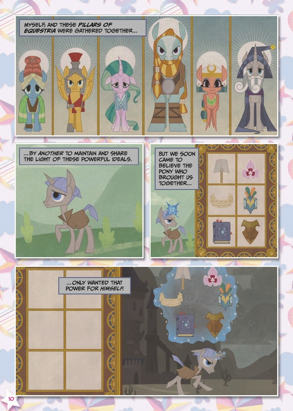 mlp-animatedV14-pr-5 ComicList Previews: MY LITTLE PONY VOLUME 14 SHADOWPLAY TP