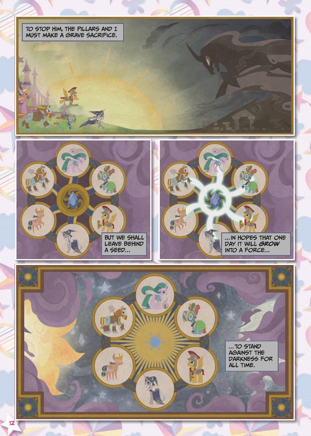 mlp-animatedV14-pr-7 ComicList Previews: MY LITTLE PONY VOLUME 14 SHADOWPLAY TP