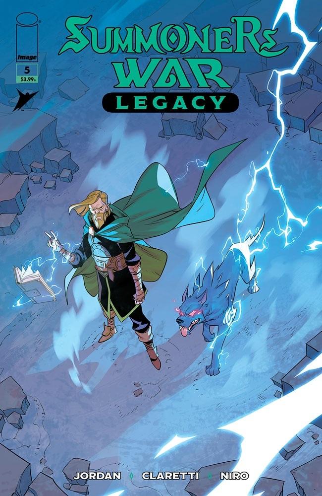 summonerswar05_cov Image Comics August 2021 Solicitations