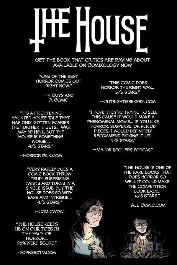thehousequotes Digital series THE HOUSE to be collected in trade paperback