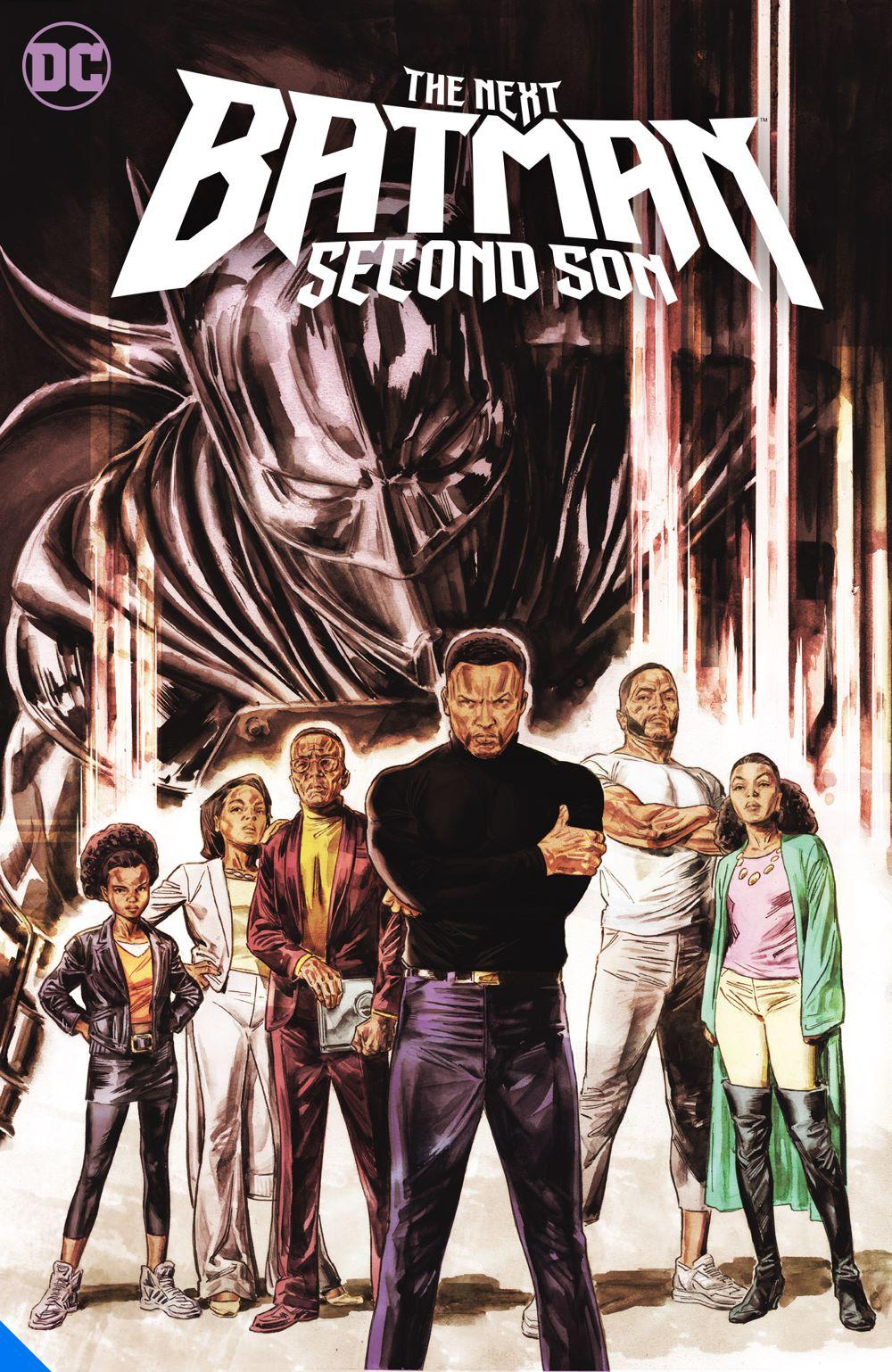 thenextbatmansecondson_adv DC Comics August 2021 Solicitations