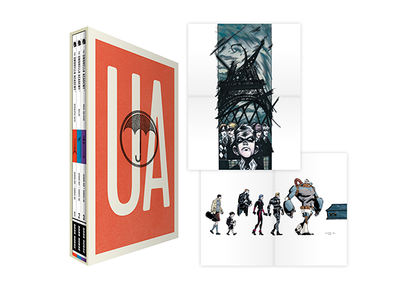 uabsev Dark Horse collects UMBRELLA ACADEMY into a box set