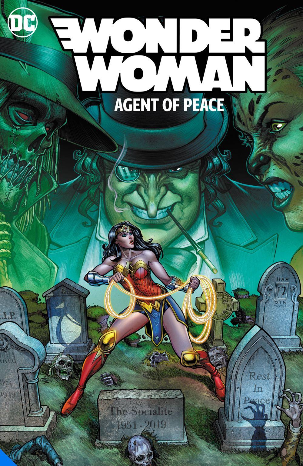 wonderwomanagentofpeace_adv DC Comics August 2021 Solicitations