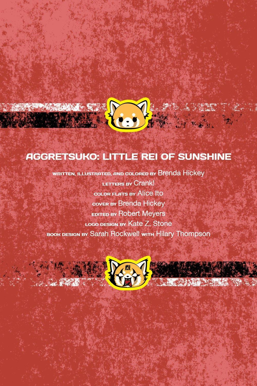 AGGRETSUKO-LITTLE-REI-REFERENCE-03 ComicList Previews: AGGRESTSUKO VOLUME 3 LITTLE REI OF SUNSHINE HC