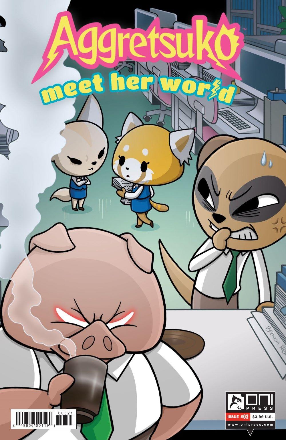 AGGRETSUKO-MHW-3-MARKETING-02 ComicList Previews: AGGRETSUKO MEET HER WORLD #3