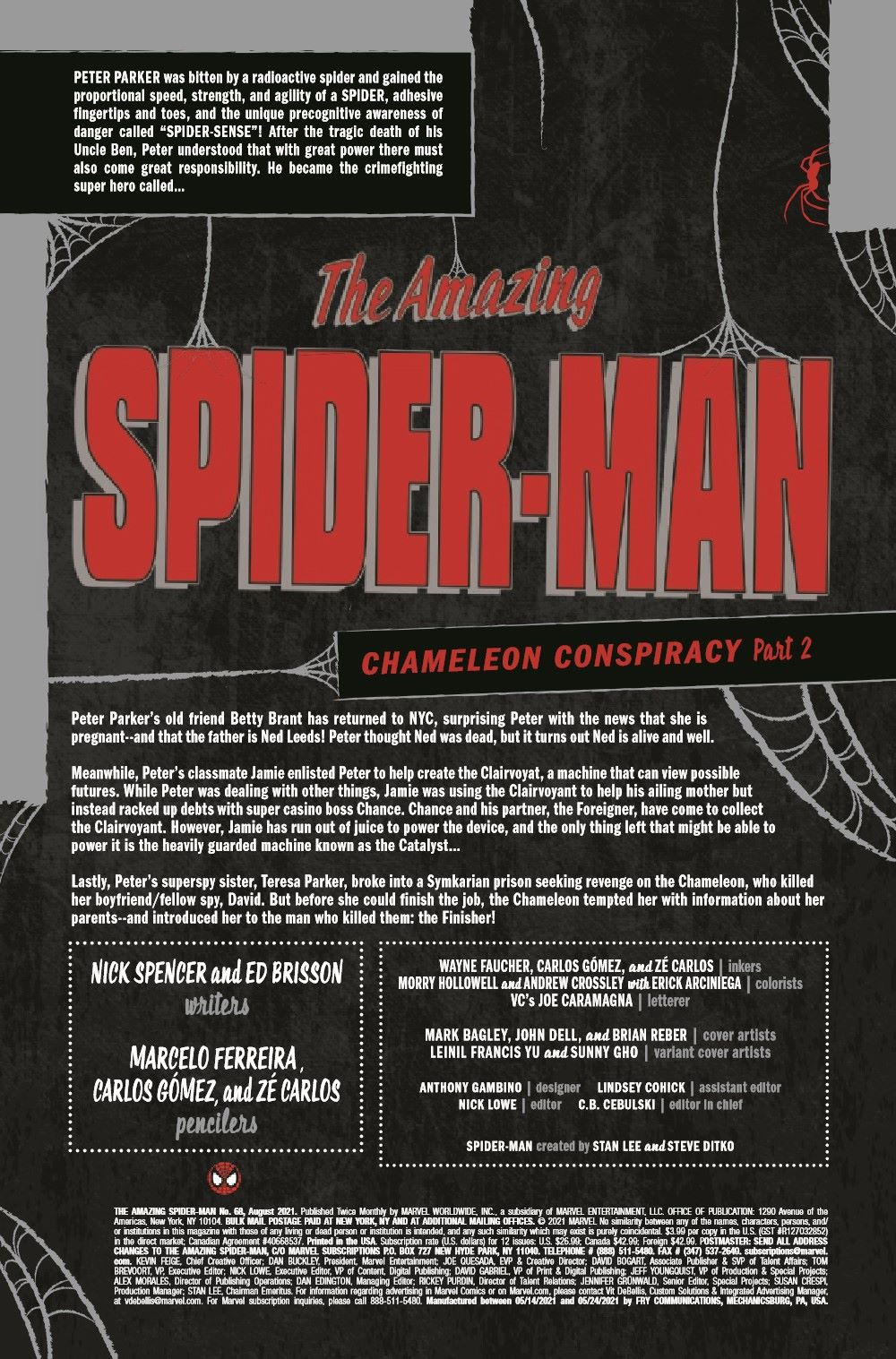 ASM2018068_Preview-2 ComicList Previews: THE AMAZING SPIDER-MAN #68