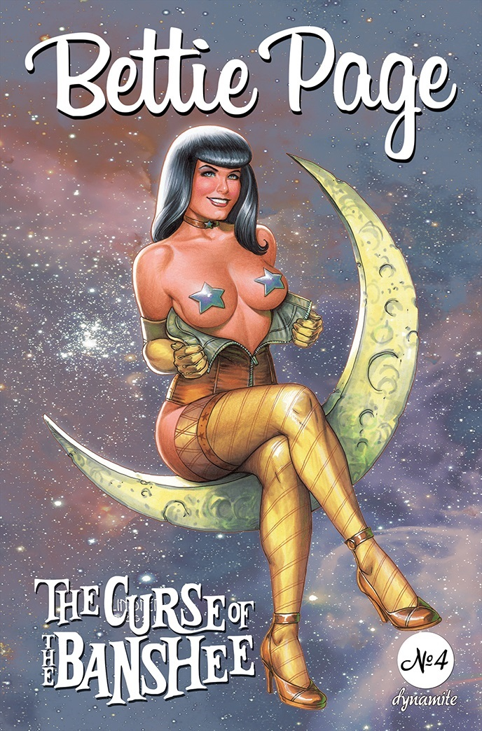 BettiePage2021-04-04021-B-Linsner Dynamite Entertainment September 2021 Solicitations