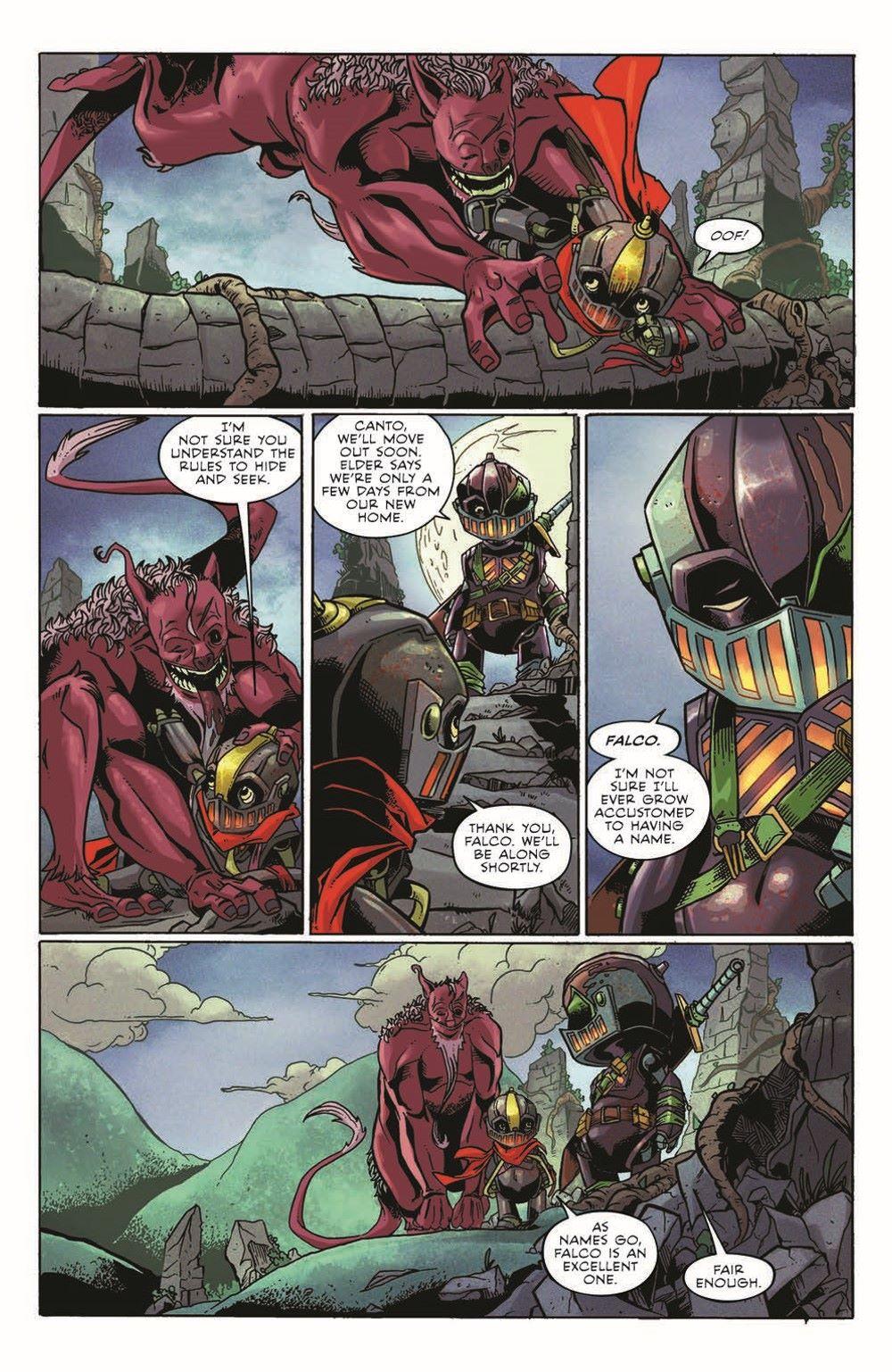 CANTOTPB02_pr-6 ComicList Previews: CANTO II THE HOLLOW MEN TP