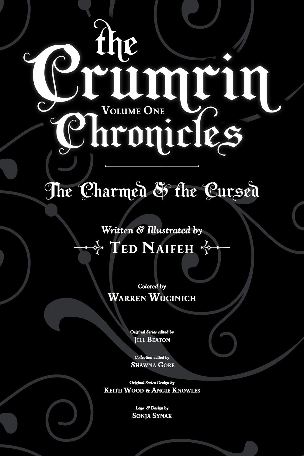 CRUMCHRON-V1-REFERENCE-004 ComicList Previews: THE CRUMRIN CHRONICLES VOLUME 1 THE CHARMED AND THE CURSED TP