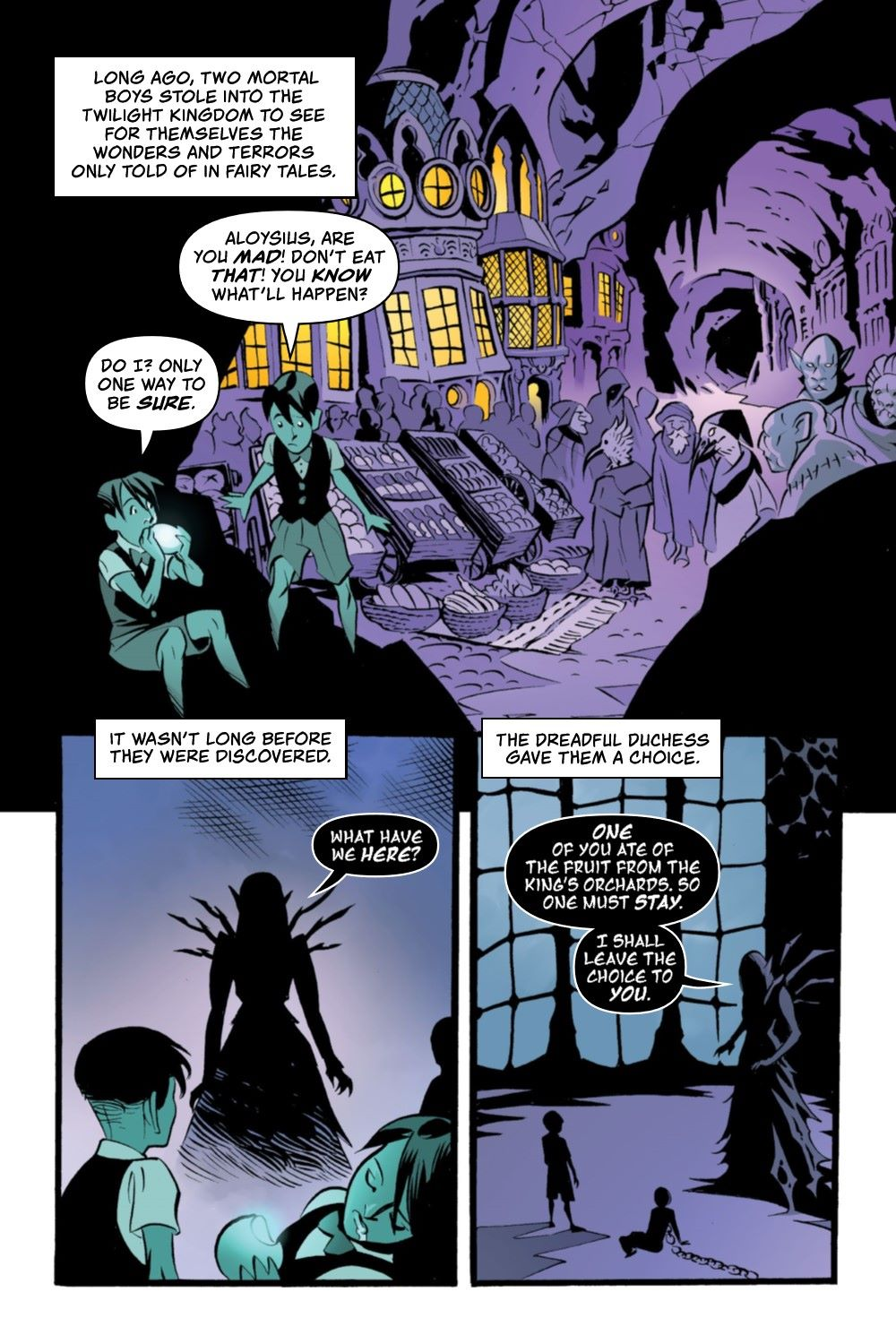 CRUMCHRON-V1-REFERENCE-008 ComicList Previews: THE CRUMRIN CHRONICLES VOLUME 1 THE CHARMED AND THE CURSED TP