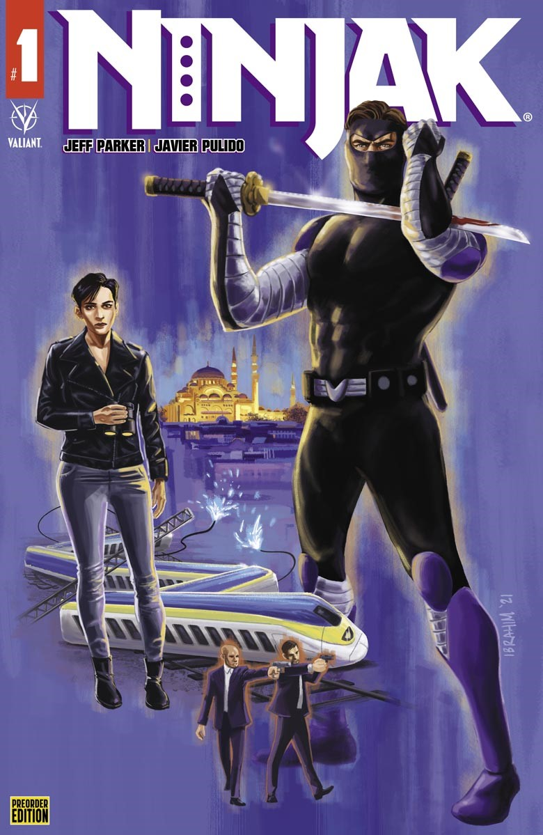 Cover_Preorder ComicList Previews: NINJAK #1