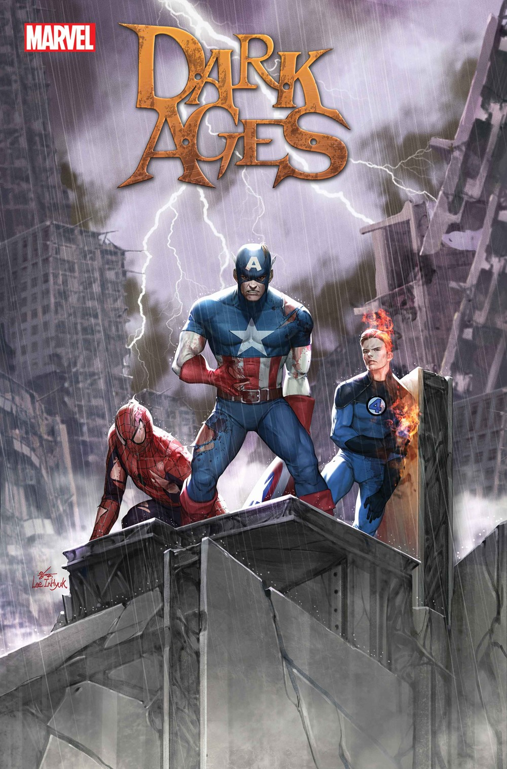 DARKAGES2021001_Lee_Var Marvel Comics September 2021 Solicitations