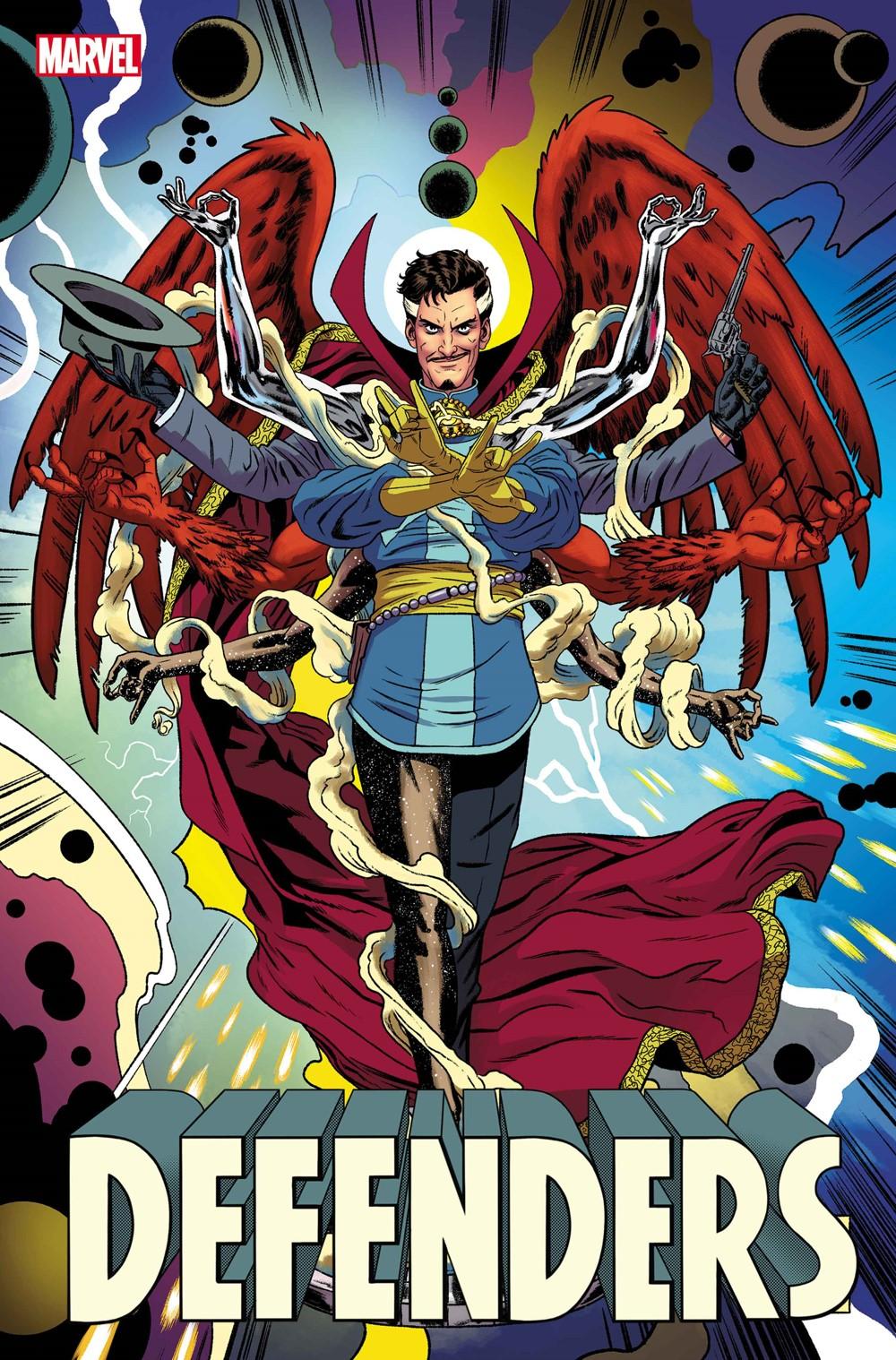 DEFENDERS2021002_Quinones-var Marvel Comics September 2021 Solicitations