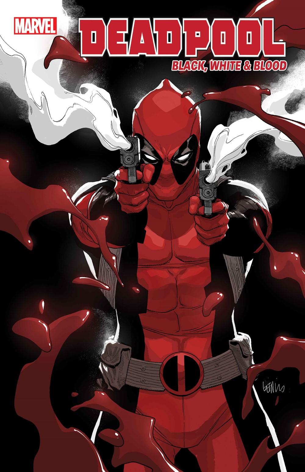 DPOOLBLKWHBL2021002_YuVar Marvel Comics September 2021 Solicitations