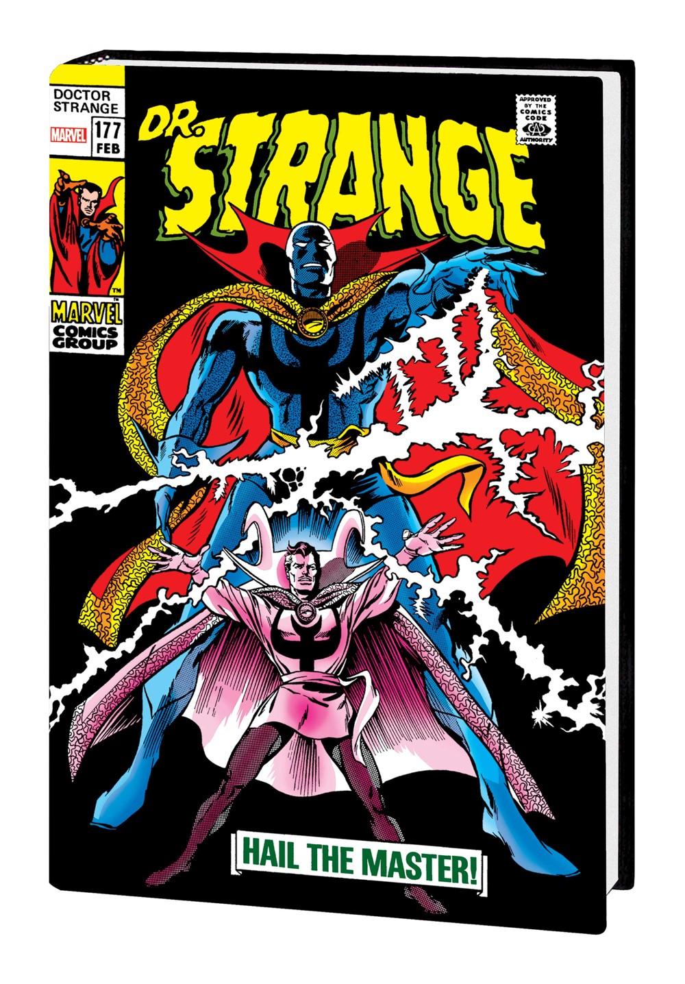 DRSTRANGE_OMNI_V2_HC_COLAN Marvel Comics September 2021 Solicitations