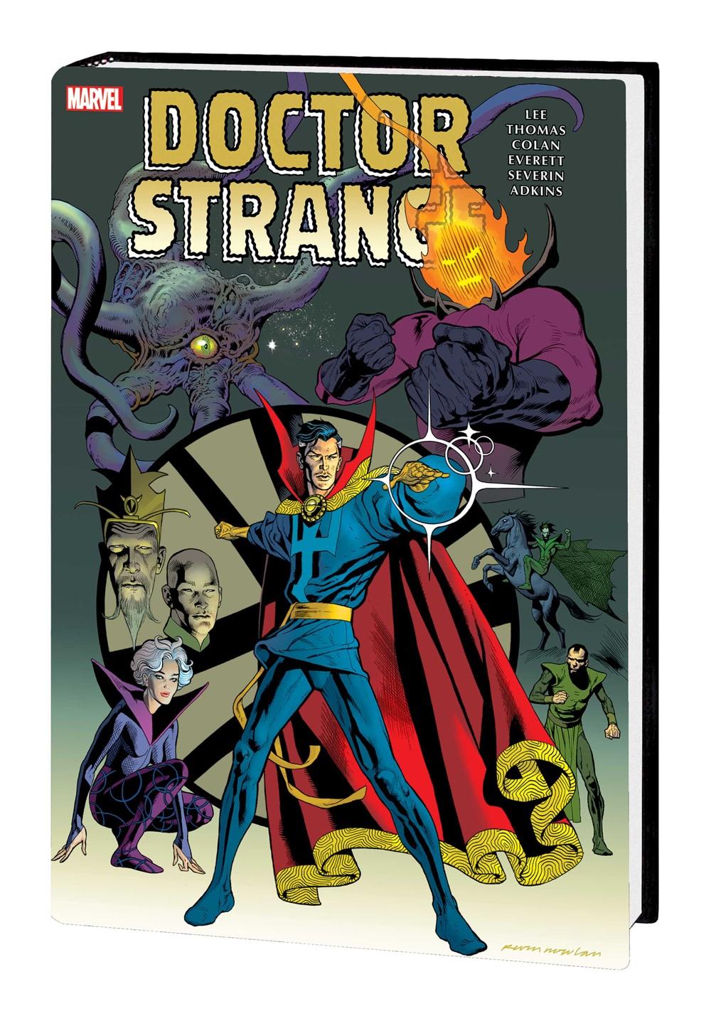 DRSTRANGE_OMNI_V2_HC_NOWLAN Marvel Comics September 2021 Solicitations