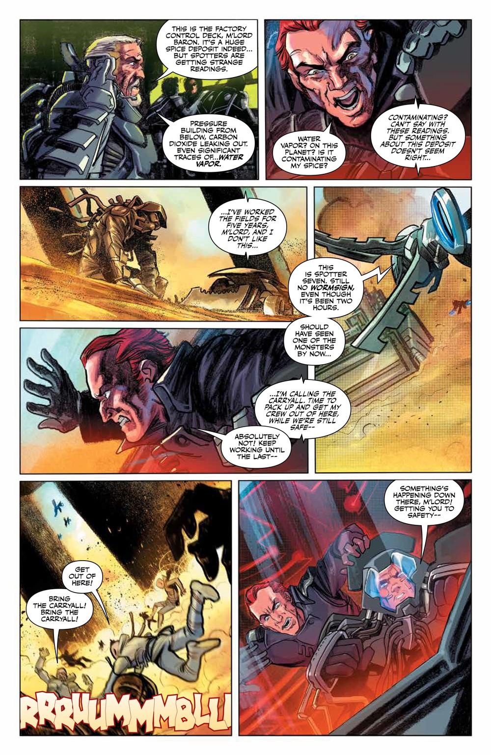 Dune_HouseAtreides_v1_HC_PRESS_10 ComicList Previews: DUNE HOUSE ATREIDES VOLUME 1 HC