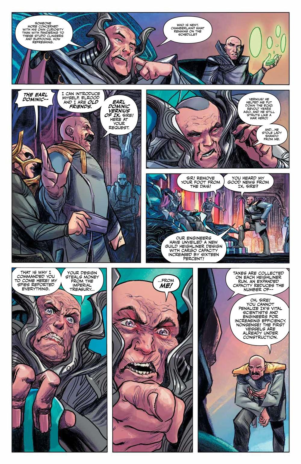 Dune_HouseAtreides_v1_HC_PRESS_17 ComicList Previews: DUNE HOUSE ATREIDES VOLUME 1 HC