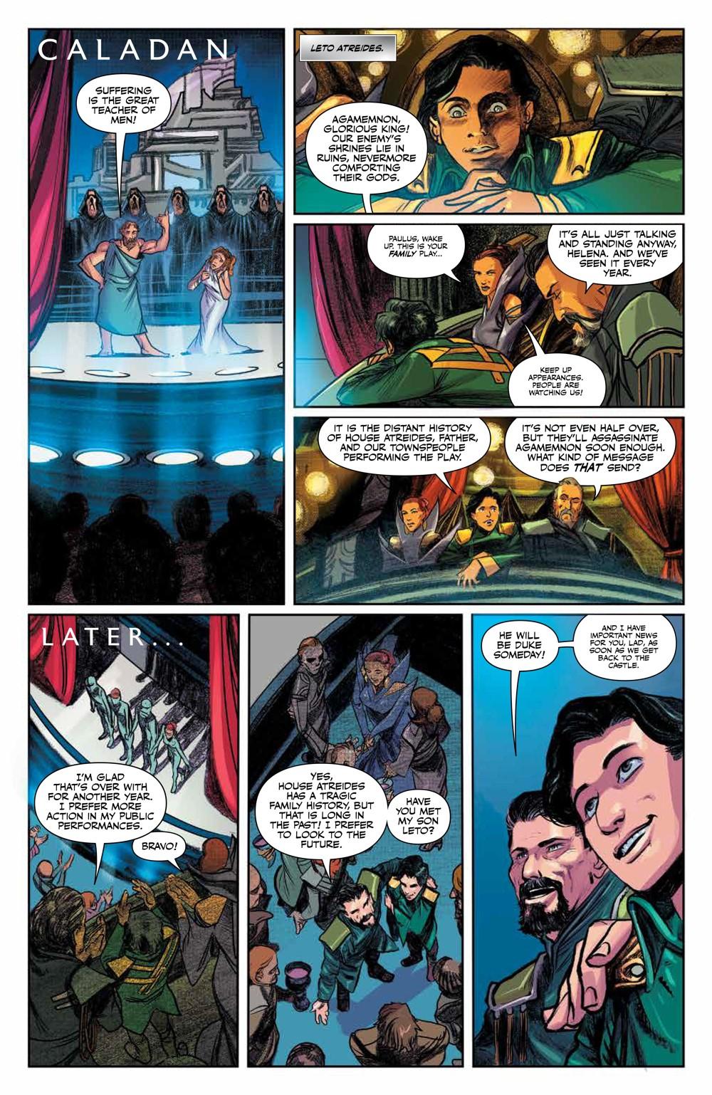 Dune_HouseAtreides_v1_HC_PRESS_19 ComicList Previews: DUNE HOUSE ATREIDES VOLUME 1 HC