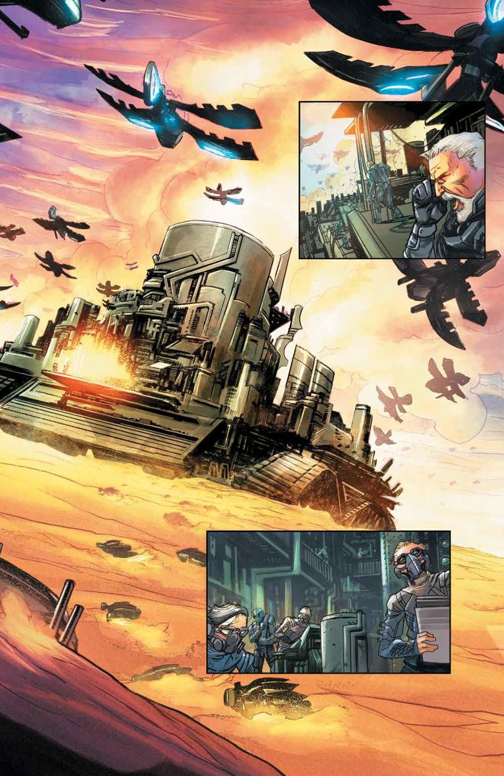 Dune_HouseAtreides_v1_HC_PRESS_9 ComicList Previews: DUNE HOUSE ATREIDES VOLUME 1 HC