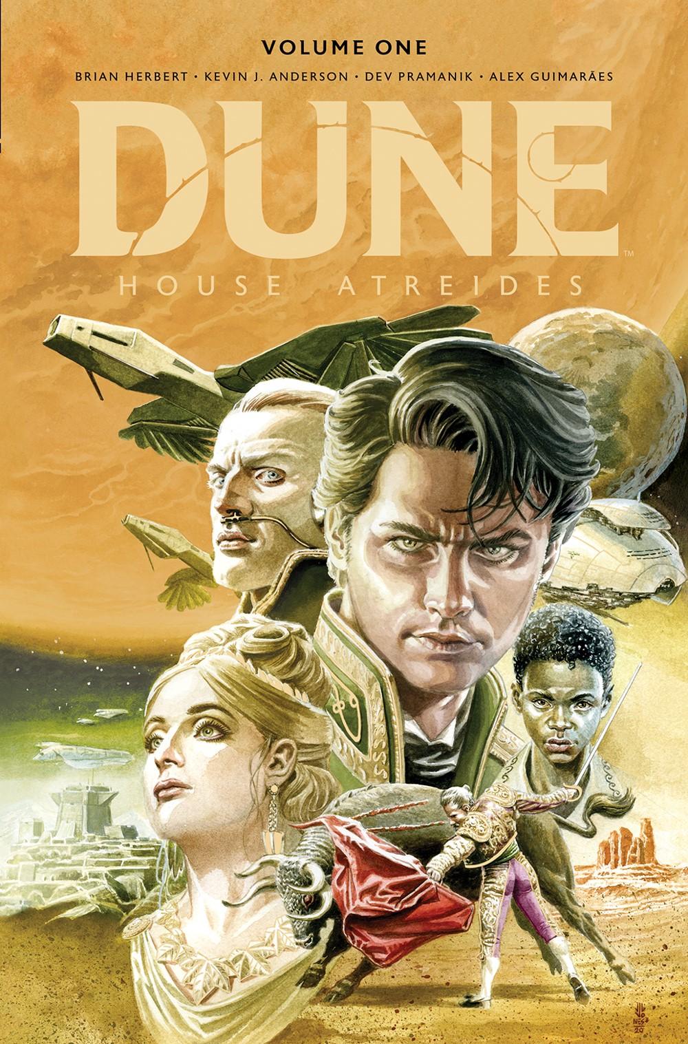 Dune_HouseAtreides_v1_LE_HC_Cover ComicList Previews: DUNE HOUSE ATREIDES VOLUME 1 HC
